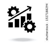 productivity icon vector... | Shutterstock .eps vector #1527188294
