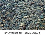 Lake Bed Of Rocks Or Pebbles...