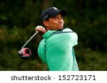 norton  ma sep 1  tiger woods... | Shutterstock . vector #152723171