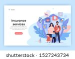 family insurance services... | Shutterstock .eps vector #1527243734