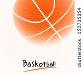 basketball | Shutterstock . vector #152735354