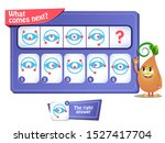 educational game for kids and... | Shutterstock .eps vector #1527417704