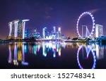 singapore cityscape | Shutterstock . vector #152748341