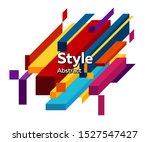 trendy minimal abstract design. ... | Shutterstock .eps vector #1527547427