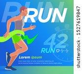 training  advertising ... | Shutterstock .eps vector #1527619847