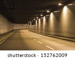 view through a modern street... | Shutterstock . vector #152762009