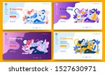 template for landing page ... | Shutterstock .eps vector #1527630971