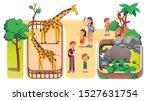 girl   boys kids   parents... | Shutterstock .eps vector #1527631754