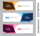 vector abstract design web... | Shutterstock .eps vector #1527687944