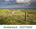 Pennine Farm On Windswept...