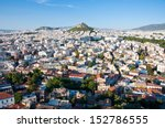 view of athens and mount... | Shutterstock . vector #152786555