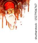 guru nanak jayanti festival of... | Shutterstock .eps vector #1527936767
