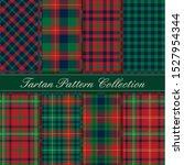 elegant tartan pattern... | Shutterstock .eps vector #1527954344