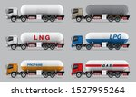 Vector Eps10   Set Of Gas...