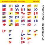Set Of International Maritime...