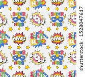 seamless textile pattern with... | Shutterstock .eps vector #1528047617