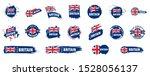 united kingdom flag  vector...   Shutterstock .eps vector #1528056137