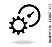 productivity icon vector.... | Shutterstock .eps vector #1528074104