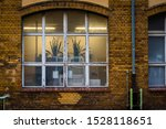 Brick Facade With Big Window ...
