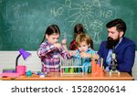 Stock photo school club education chemistry themed club discover and explore properties of substances 1528200614