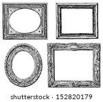 antique frames | Shutterstock . vector #152820179