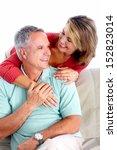 senior couple portrait.... | Shutterstock . vector #152823014