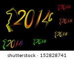 new year sign | Shutterstock .eps vector #152828741