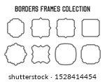 border frame collection for... | Shutterstock .eps vector #1528414454