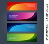 vector abstract design banner... | Shutterstock .eps vector #1528470131