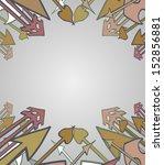collage frame | Shutterstock .eps vector #152856881