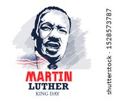 Martin Luther King Jr Vector...
