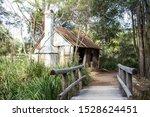 Old Australian Wooden Bush...