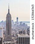 new york city  new york  ... | Shutterstock . vector #152866565