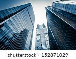shanghai lujiazui business... | Shutterstock . vector #152871029