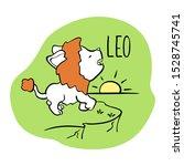 leo astrological zodiac sign... | Shutterstock .eps vector #1528745741