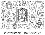 christmas big collection of... | Shutterstock .eps vector #1528782197
