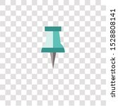 push pin icon sign and symbol.... | Shutterstock .eps vector #1528808141