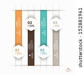 modern colorful  infographics... | Shutterstock .eps vector #152881961