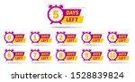 countdown 1  2  3  4  5  6  7 ... | Shutterstock .eps vector #1528839824