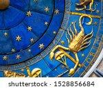 scorpio astrological sign on...   Shutterstock . vector #1528856684