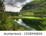 Secret landscsape somewhere in Norway