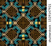 ornamental vintage ethnic style ... | Shutterstock .eps vector #1529147921