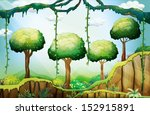 Illustration Of The Trees In...