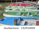 boat hire business. | Shutterstock . vector #152923004