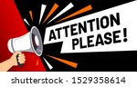 important message attention... | Shutterstock .eps vector #1529358614