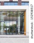 the part of facade of modern... | Shutterstock . vector #152938517