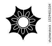 flower icon trendy design...