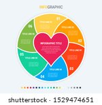 colorful diagram  infographic... | Shutterstock .eps vector #1529474651
