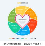 infographic template. love is... | Shutterstock .eps vector #1529474654