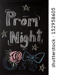 prom night announcement sign on ...